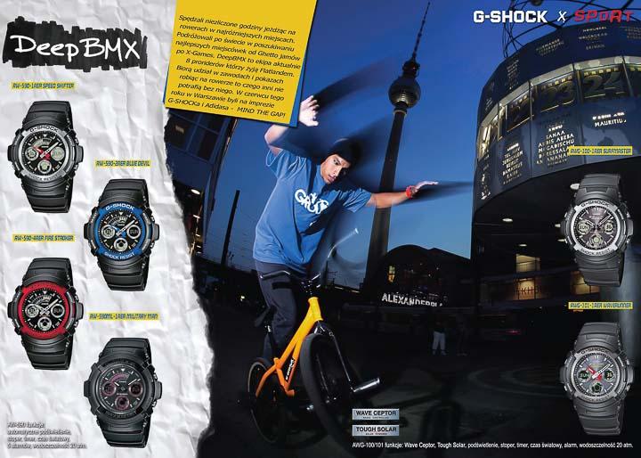G-SHOCK Ad